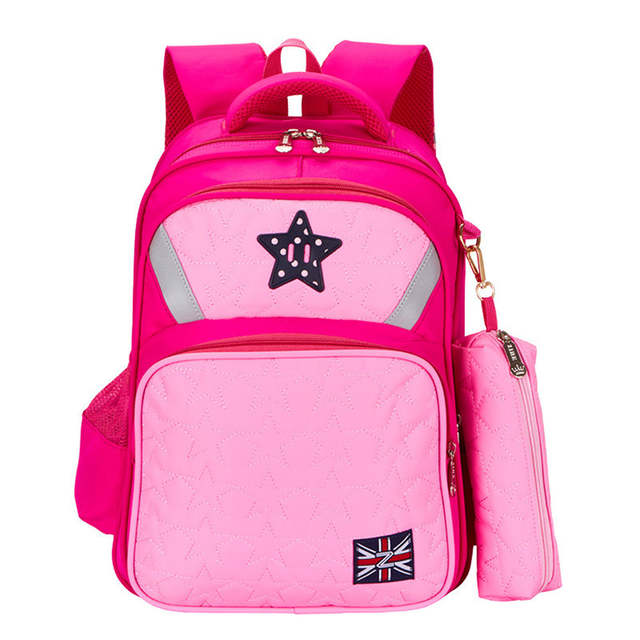 4d71d7ecc9 Cute Girls Backpacks Kids Satchel Children School Bags For Girls Orthopedic  Waterproof Backpack Child School Bag