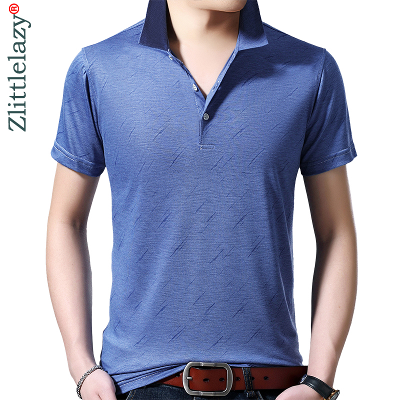 2019 Brand New Casual Summer Line Short Sleeve Polo Shirt Men Poloshirt Jersey Luxury Mens Polos Tee Shirts Dress Fashions 42253