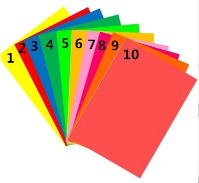 50 Sheets A4 Self-adhesive Sticker Colorful Label Paper Laser Inkjet Printing Kindergarten Students Children Pattern DIY Paper