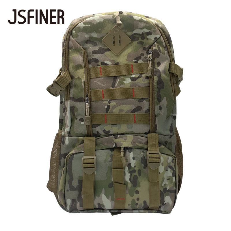 JSFINER 31Litre Large Capacity Army Camouflage Backpack Polyester School Bags for Teenagers Big Travel Backpacks longmiao men oxford camouflage backpack preppy style camo school backpacks for teenagers uk flag large capacity travel bags