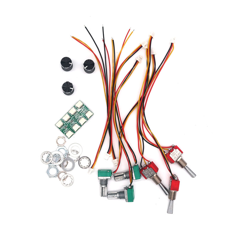 DasMikro 2.4GHz 4CH External Expander KIT For Flysky GT3B GT3C Transmitter RC Car Parts image