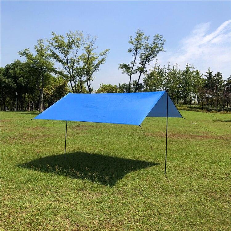 10'x10' 10'x13' квадратный навес для защиты от солнца, водонепроницаемый полиэфирный тент, затенение от солнца, сетка для улицы, для сада, для пеших прогулок, Солнцезащитный навес, парус