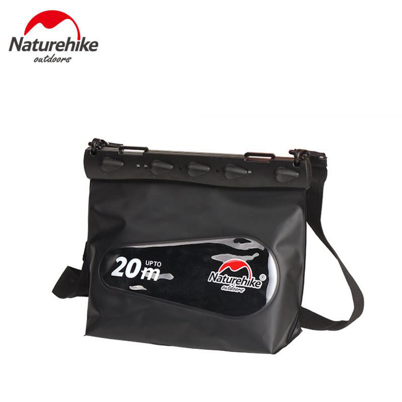 NatureHike Outdoor Multifunctional waterproof Dry Bag PVC Hermetic Bags For Tourism Beach Sports Phone Pouch Swimming Bag