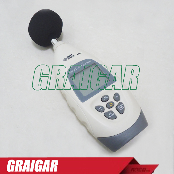 Multifuctional Sound Noise level meter AR844 Free Shipping sound meter sl 5856 40 125db free shipping