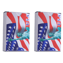 USA Playing Cards Waterproof Plastic Poker Collection Durable Game Card Creative Gift Diamond