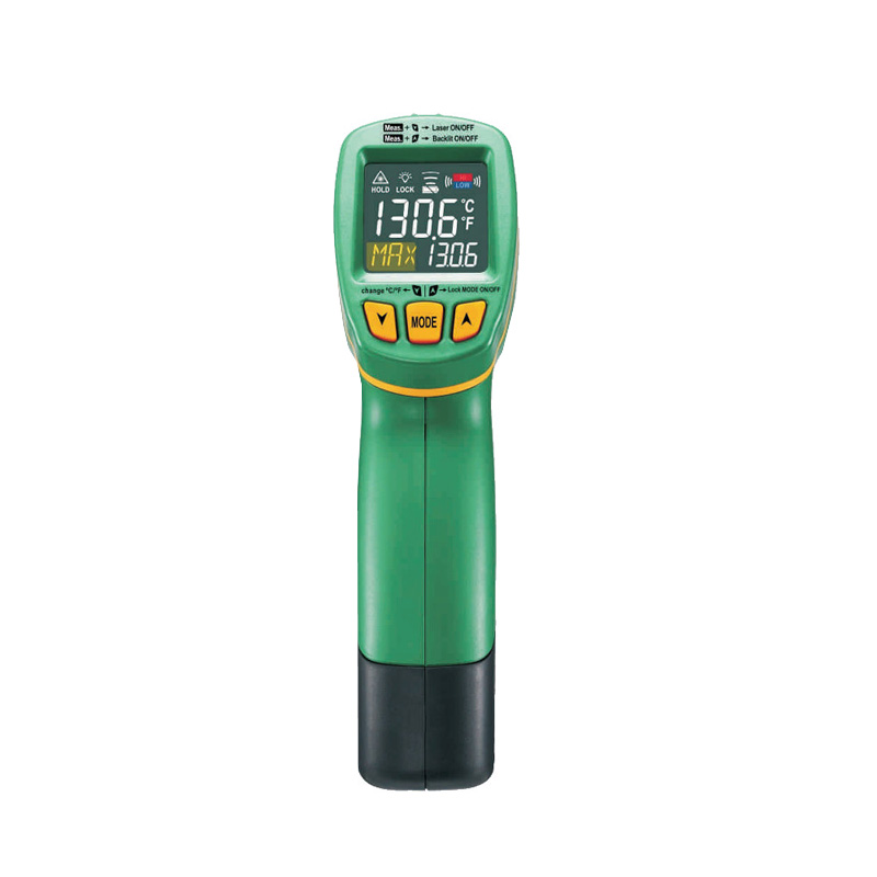 1pcs MASTECH MS6531A Handheld Non-contact Digital Infrared Thermometer Point Temperature Gun with K-type Temperature Measurement original xiaomi mijia ihealth thermometer accurate digital fever infrared clinical thermometer non contact measurement led shown