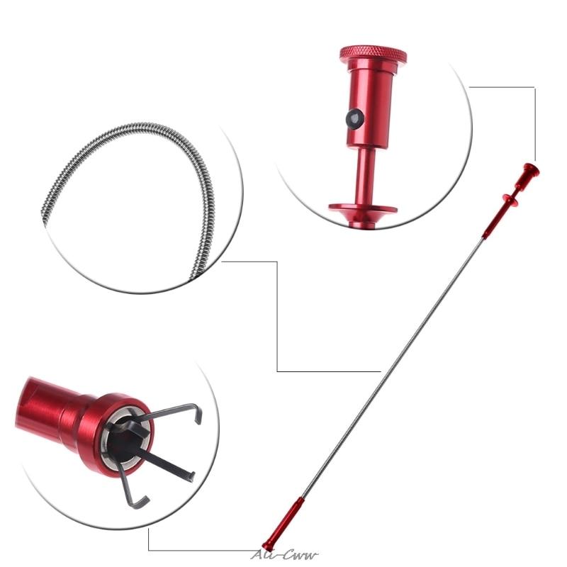 Гибкий магнитный инструмент 4 коготь светодиодный светильник Магнитный длинный пружинный захват домашний туалет гаджет канализационные и...