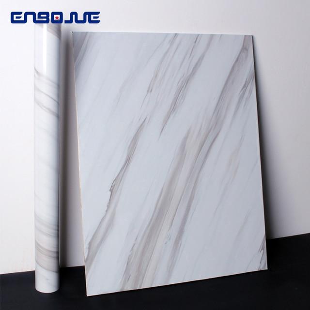0.4x3 M papier peint auto-adhésif maison cuisine résistant à l'huile autocollants vinyle étanche fenêtre meubles Table marbre mur autocollant