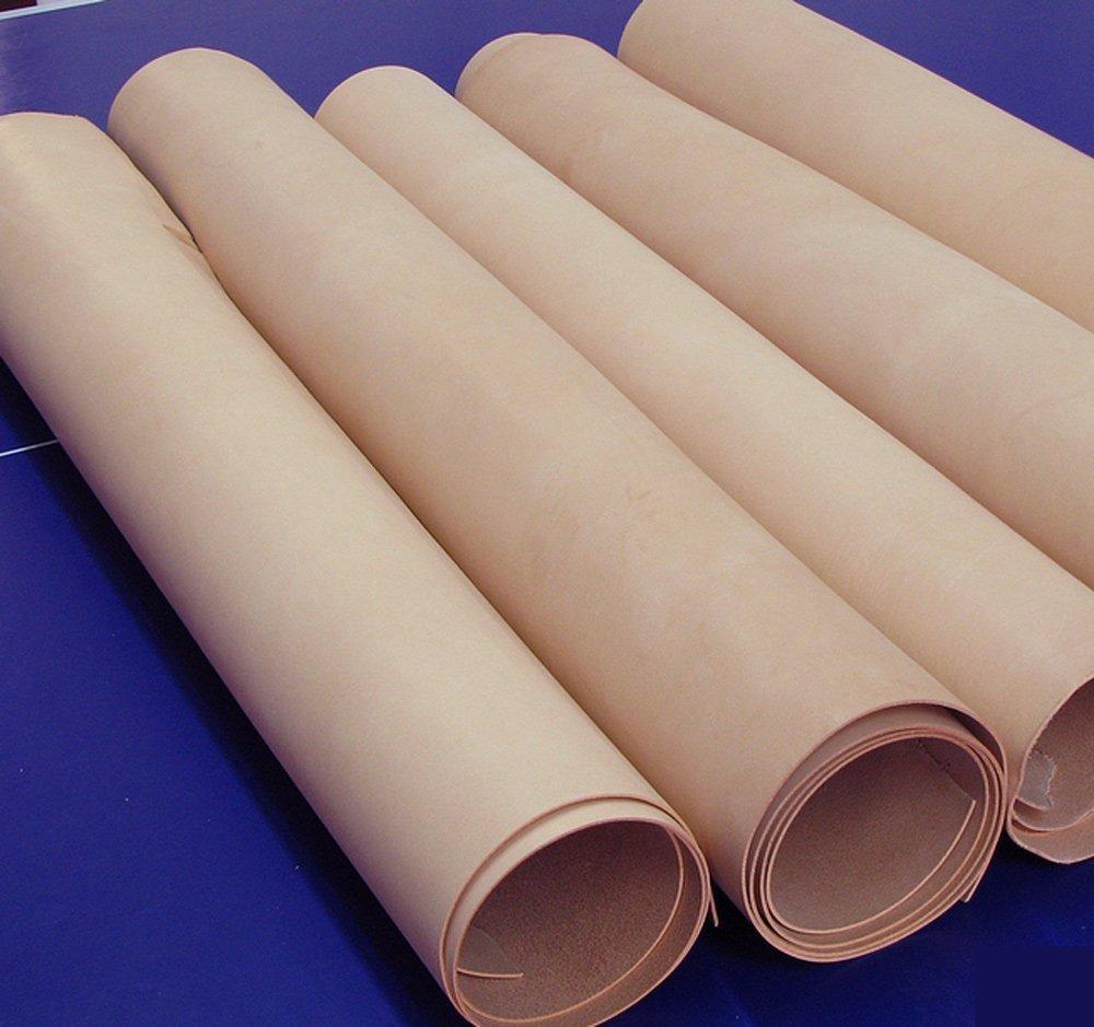 PASSION juneTree cuir tanné végétal épais cuir véritable environ 1.4mm à 1.6mm peau de vache (30*60 cm)