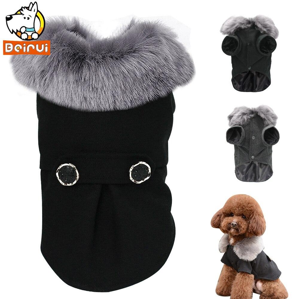 Inverno Vestiti Del Cane Pug Pet Gatto Vestiti Giacca Cappotto Con Cappuccio per il Cane Imbottito Puppy Apparel per Small Medium Cani Petsroupa cachorro