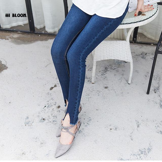Precio al por mayor Jeans Para Mujeres Embarazadas Pantalones Vaqueros De Maternidad Ropa Embarazadas Ajustables Pantalones Del Vientre de Mezclilla Pantalones de Alta Calidad