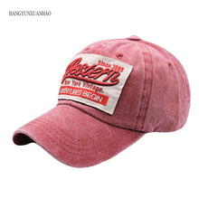 HANGYUNXUANHAO Washed Old Vintage Spring Summer Baseball Cap Retro Snapback  Women Hat Men Casual Trucker Bone Casquette