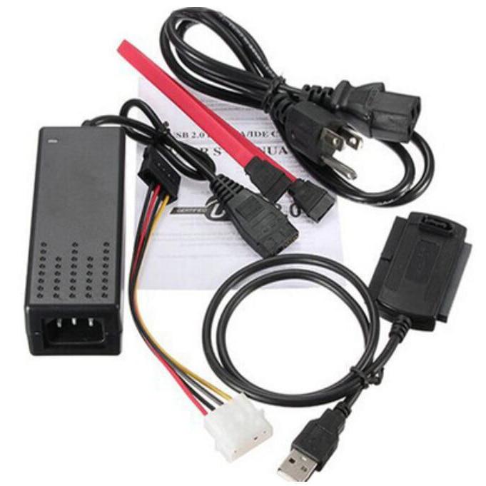 1 Sets USB 2.0 To IDE SATA S-ATA 2.5