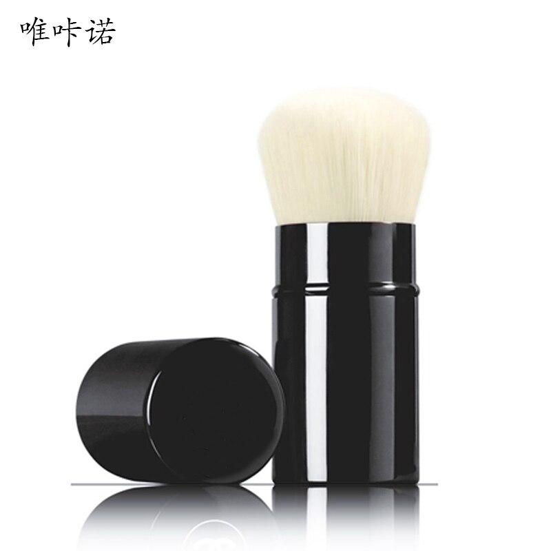 Foundation Make-up Brushes Large Professional Concealer Blush Brush BB Cream Metal Handle Brush Cosmetics Portable Makeup