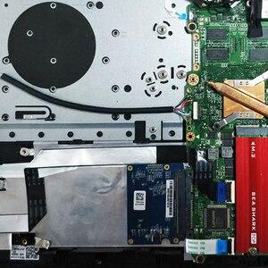 Image 3 - M.2 NGFF/NVMe SSD dissipatore di calore dissipatore di calore disco rigido aletta del radiatore Pad di raffreddamento termico buona qualità2019