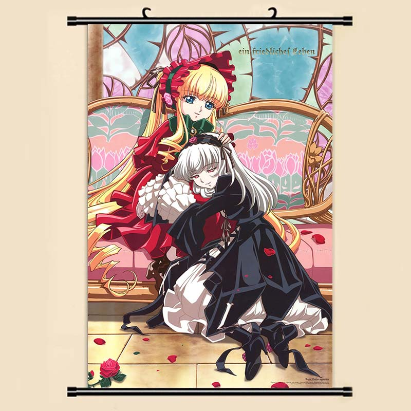 Us 399 Anime Manga Rozen Maiden Wall Scroll Painting 40x60 Picture Wallpaper Stickers Poster 001 In Painting Calligraphy From Home Garden On