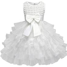 цена на Lace Baby Girl Dresses 6M-24M 1 Years Baby Girls Birthday Dresses Girl Princess Dress Baptism Gown Vestido Infantil
