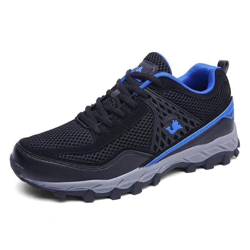 2019 Printemps Hommes chaussures de randonnée grande taille Chameau de Style baskets d'extérieur Pour Hommes Respirant Trekking Tourisme Escalade chaussures de montagne