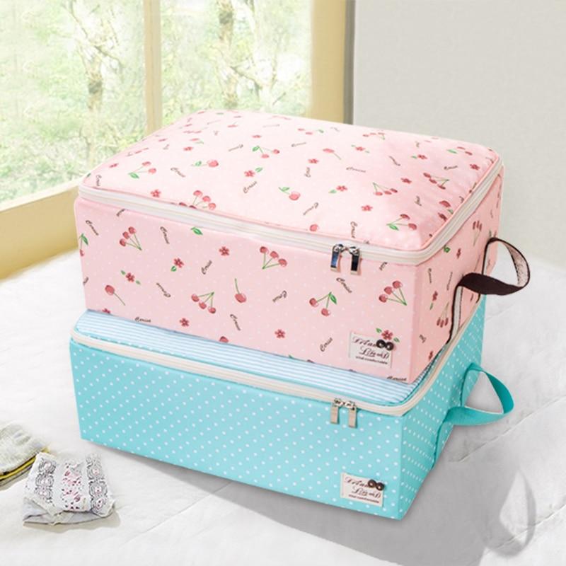 QUBABOBP Folding Clothes Storage Box Clothing Organizer Blouse Pants Children Toys Storage Boxes With Big Capacity