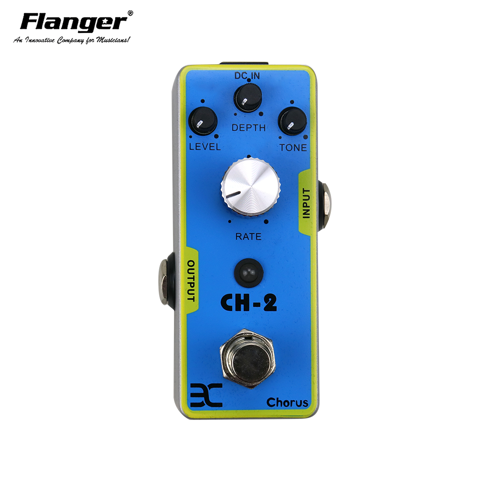 ENO CH-2 Mini Single Chorus Electric Guitar Effect Pedal True Bypass Guitarra Part light weight aroma ach 3 mini chorus electric guitar effect pedal guitar parts and accessories