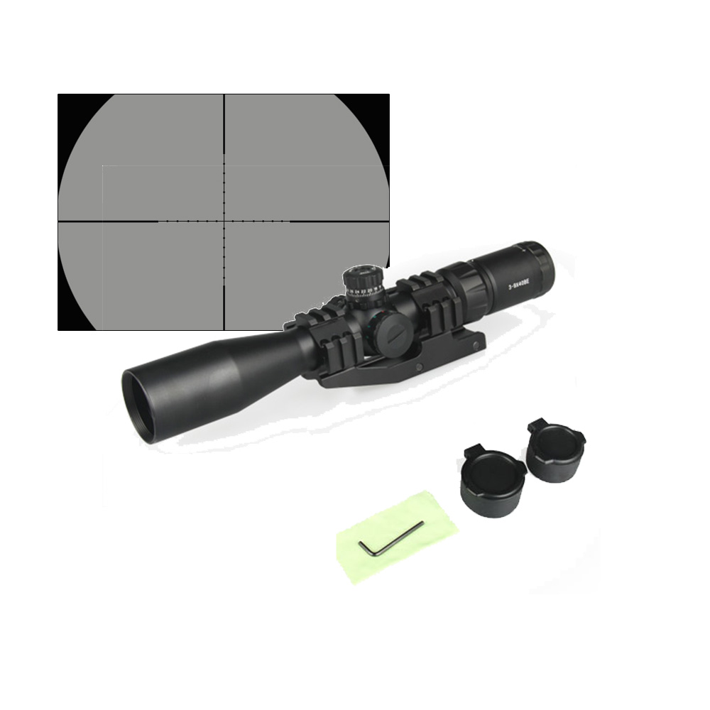 PPT  3-9X40BE Rifle Scope With Mesh Cover Set For Hunting HS1-0247