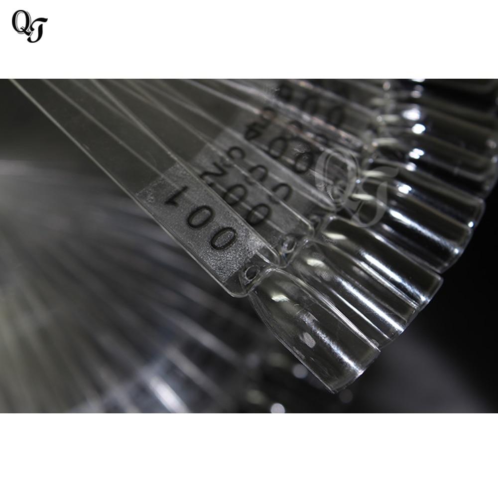 Nieuwe Groothandel 120 Tips Nail Art Display Grafiek Spiraal Display