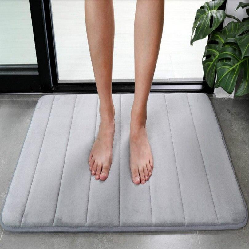 40*60CM 50*80CM 60*90CM Water absorption non-slip toilet doormat floor mat front door mats outdoor entrance free shipping