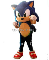 mascot Hedgehog Mascot Costume Adult Size Blue Knuckles Sonic the Hedgehog Mascotte Outfit Suit