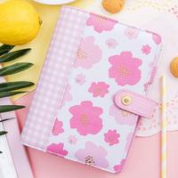 Lovedoki Foil Flower Notebooks Yiwi Korean Thick Spiral Notebook A5 A6 A7 Planner Personal Dokibook Diary Book Stationery Store