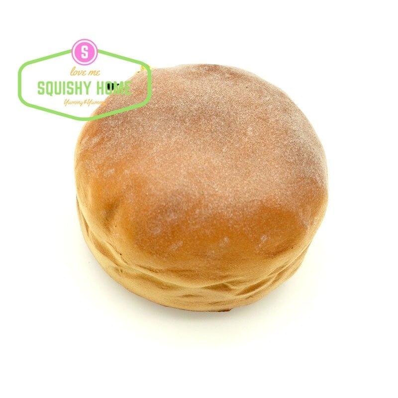 bilder für 10 stücke Großhandel günstige Duft Squishy Brot Telefon/Taschenriemen Staubstecker Geschenk Freies Verschiffen Brötchen Squishies