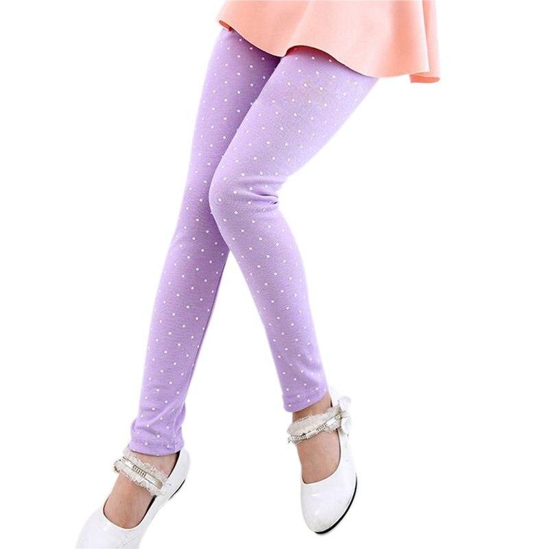 d69c3b7b33a36 Printemps Automne Enfant Enfants Bébé de Fille Occasionnels Pantalon  Extensible Leggings Pantalon De Couleur de Sucrerie 2-7Y