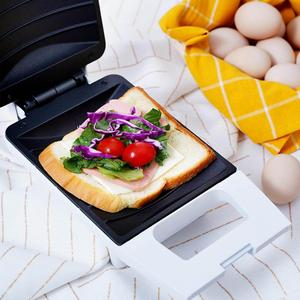 Image 3 - Original Youpin Pinlo 420W Mini Sandwich Machine Kitchen Breakfast Bread Maker Curved Surface Toaster Frying Egg Maker Home Use