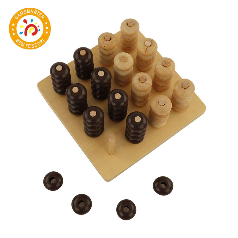 Baby Toy Montessori Material Chess Board Math Toys Educational School Games Early Education