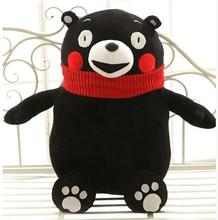 Cute doll Kumamoto bear Japanese mascot bear plush toys for children stuffed doll pillow gift girls kids brinquedos freeshipping