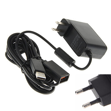 For Xbox 360 XBOX360 Kinect Sensor US EU USB AC Adapter Power Supply cable Charging Adapter Charger DC 12V 100V 240V 50 60 Hz in Chargers from Consumer Electronics