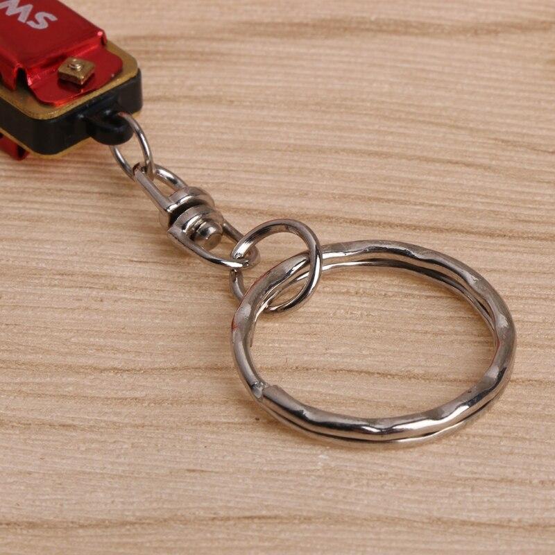 Key Rings 1pc 4 Holes 8 Tone Mini Car Key Ring Harmonica Keychain Kid Harmonica Toy Gift Be Friendly In Use