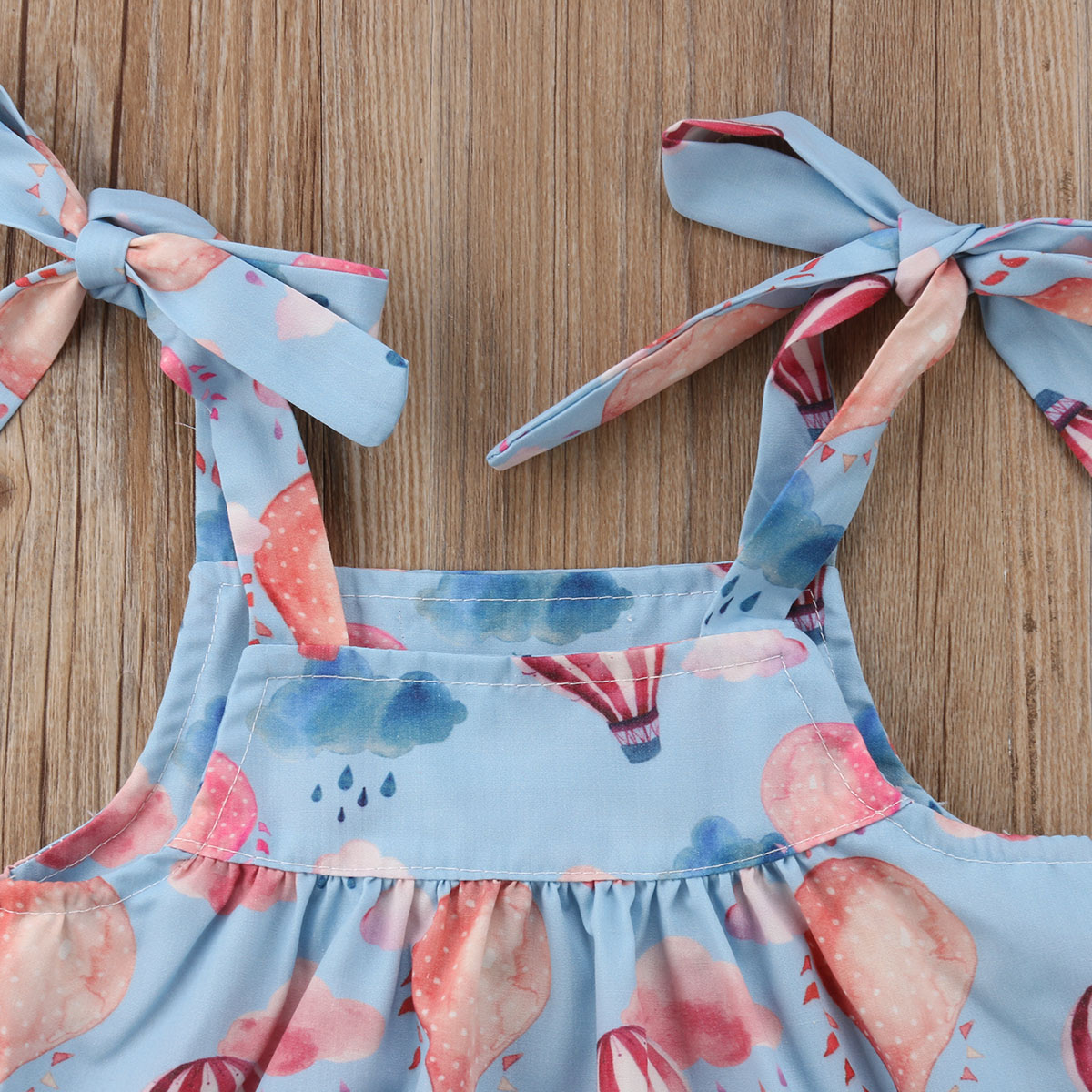 Newborn Infant Baby Girl Suspender Skirt Tops+Shorts PP Bloomers Panties Clothes 2018 Summer Clothes 0-24M