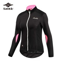 SANTIC Cycling Jacket Women Bicycle Jacket Riding Wind Coat Windproof Road Mountain Bike Jacket Chaquetas Ciclismo Mujer