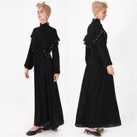 2019 Islamic Muslim fashion design abaya Dubai dress for woman
