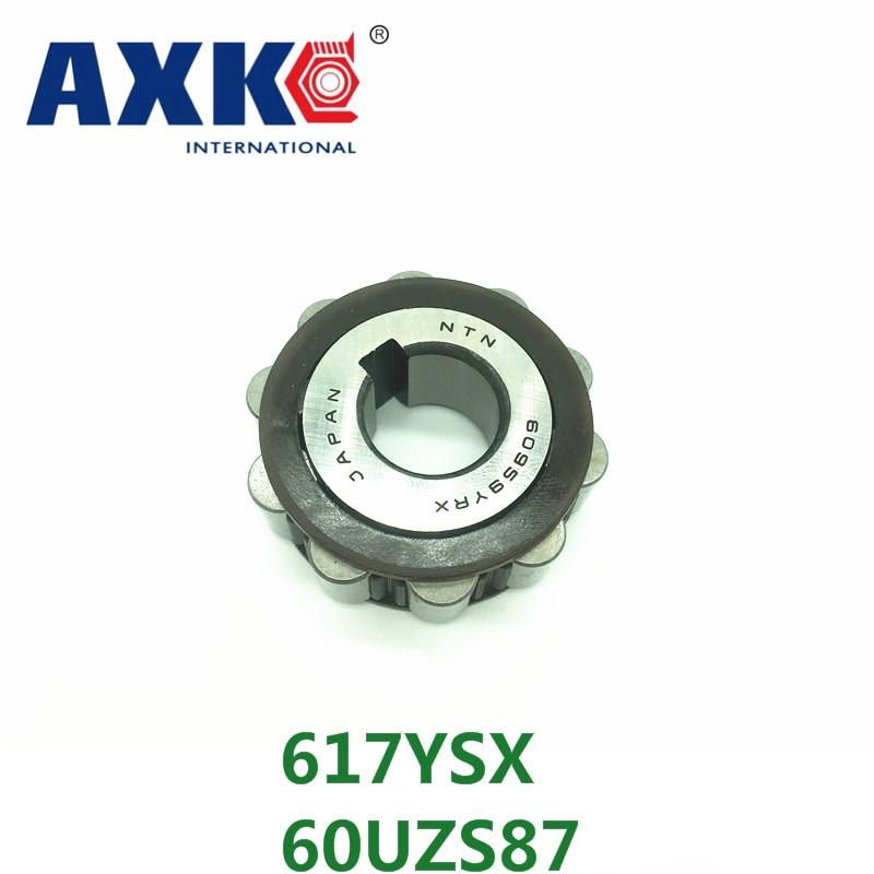 AXK  KOYO  brass cage single row eccentric bearing 617YSX  60UZS87 axk koyo brass cage single row eccentric bearing 617ysx 60uzs87