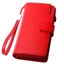 Женские кошельки из натуральной кожи, роскошный бренд, дизайн, высокое качество, модный женский кошелек, держатель для карт, длинный клатч
