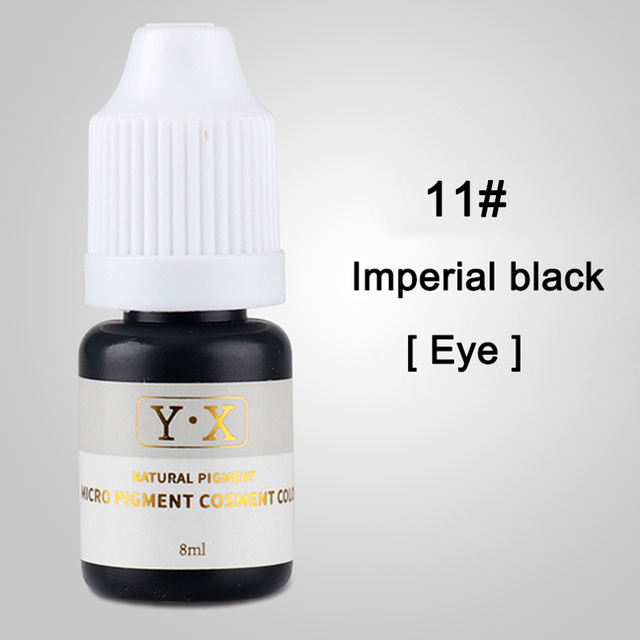Semi Permanent Makeup Eyebrow Ink Lips Eye Line Tattoo Color Inks Microblading Pigment  Tattoo Inks Tattoo Color 2