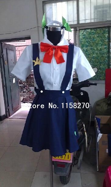 Monogatari YMayoi Hachikuji Cosplay Costume