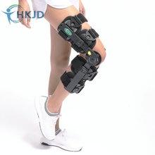 Nouvelle Conception Médicale Genou Brace Angle Réglable Support Genou Brace Orthèse Pour Rotulien Fracture Dislocation