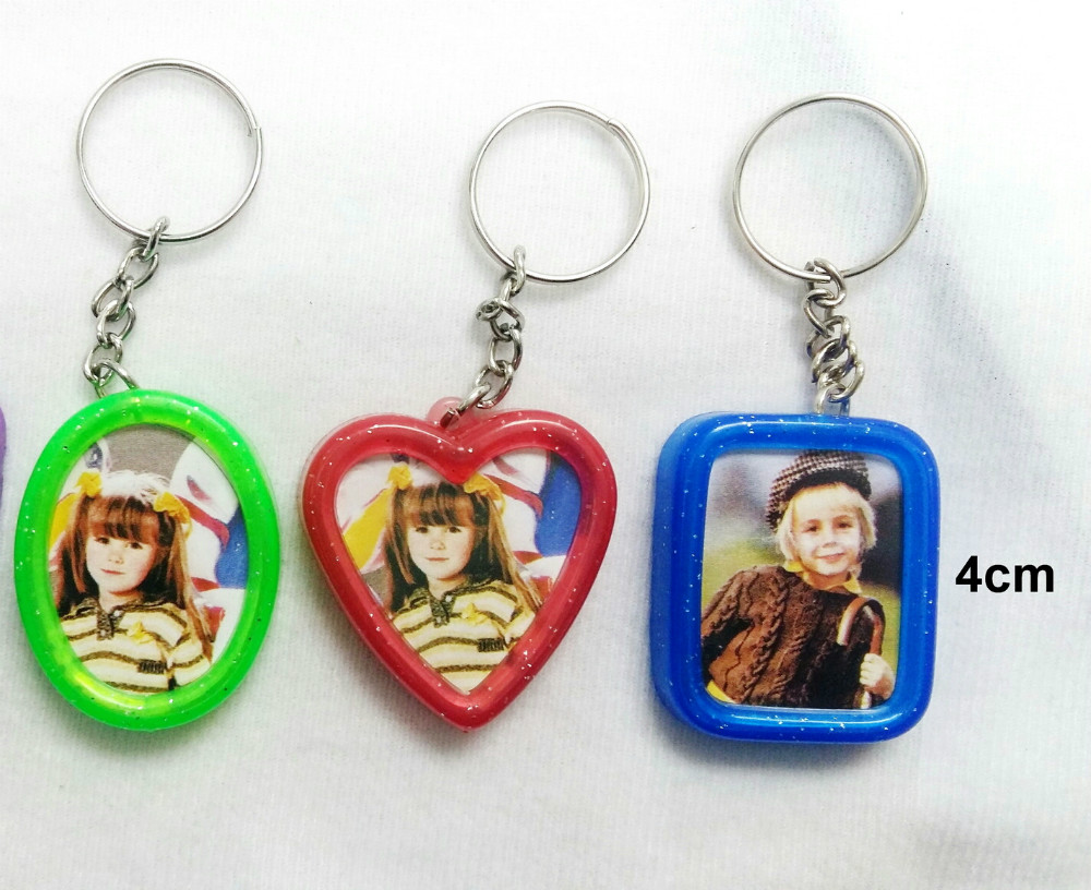 6 pc keychains photo frame key chain insert picture cake 6 pc keychains photo frame key chain insert picture cake decoration school bag vending party favors gift bags novelty carnival in party favors from home jeuxipadfo Image collections