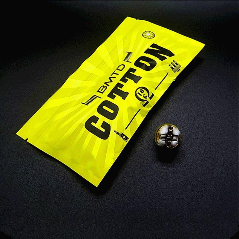10pcs/bag Vape Cotton For Electronic Cigarette 10strips/bag DIY Cotton For Ecigarette RBA RDA DIY Coil Wick VS Bacon Cool Youth
