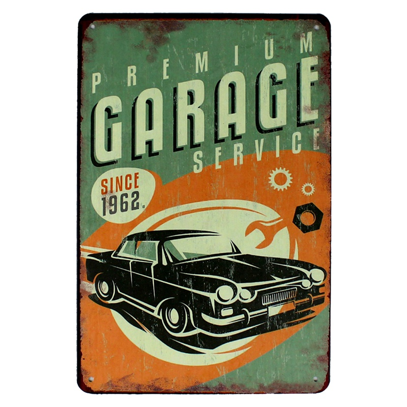 Us 3 99 45 Off Hot Rod Garage Tin Signs Vintage Car Motor Oil Metal Plate Garage Wall Bar Home Art Decor Vintage Iron Poster Cuadros A 1009 In