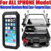 Case For IPHONE 7 Plus 6S PLUS SE 5S 4S Heavy Duty Drop Waterproof Aluminum Metal