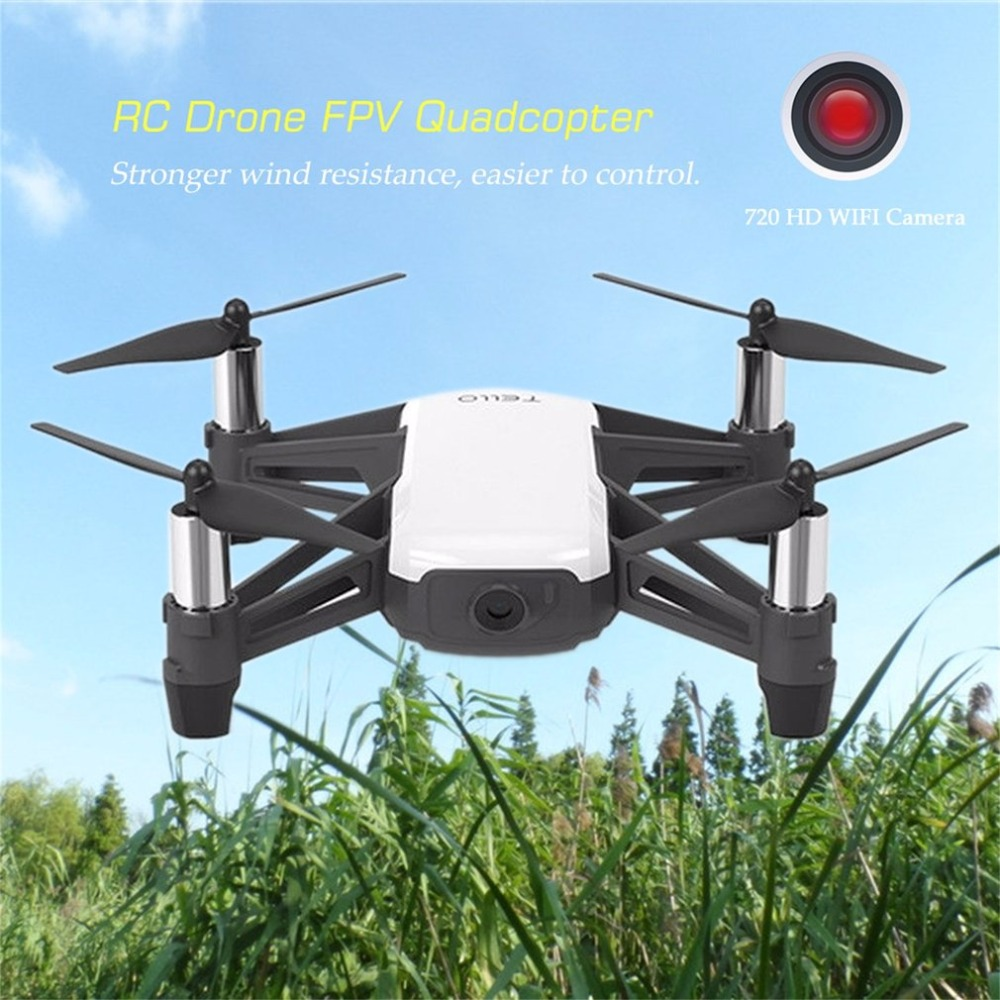 RC <font><b>Drone</b></font> <font><b>FPV</b></font> Quadcopter With 720 HD WIFI <font><b>Camera</b></font> Fail Safe Quadrocopter with Coding Education Auto Take Off/Landing Helicopter image