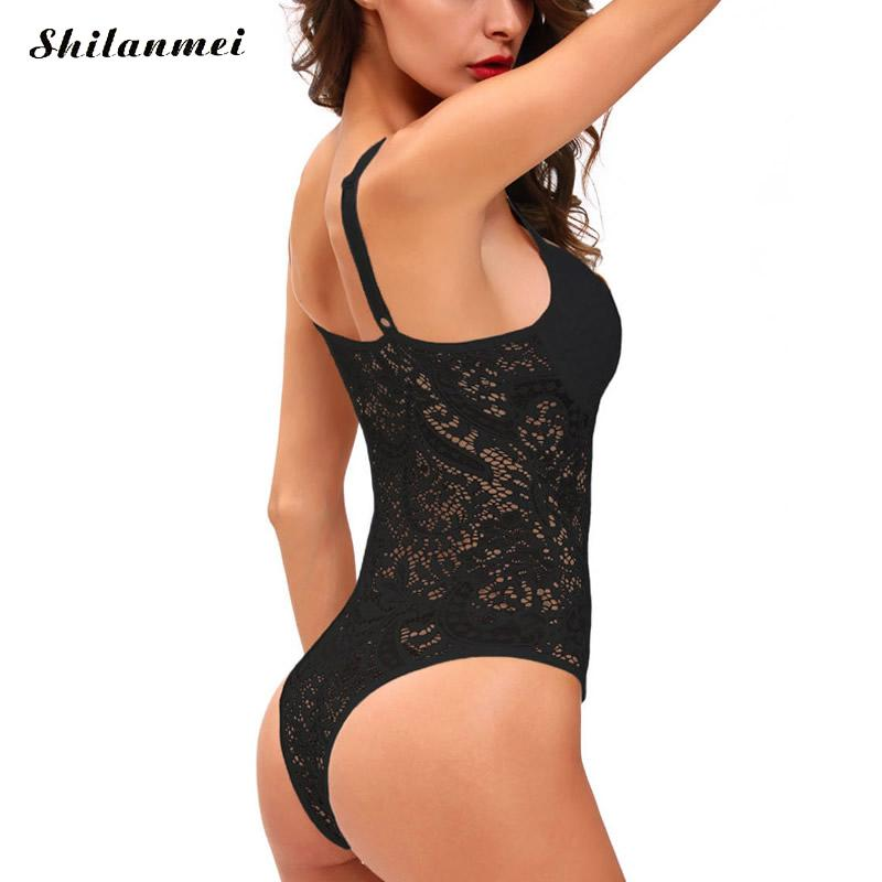 75e3245dd546a Ukraine Sexy white lace bodysuit women push up bra top backless summer  jumpsuit romper v neck hollow out party club bodysuits l. Buyer Notes !